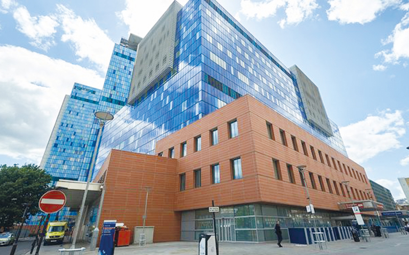 Royal London Hospital, recent project at Bluefan Group